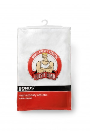 Bonds Chesty Athletic 1pk White