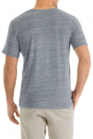Triblend V Neck Tee