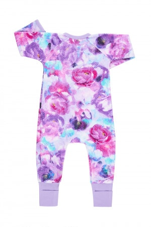 Printed Poodlette Zip Wondersuit