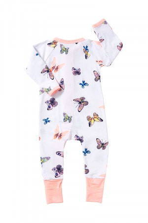Bonds Zip Wondersuit Feeling Butterflies White BZBVA 6EN