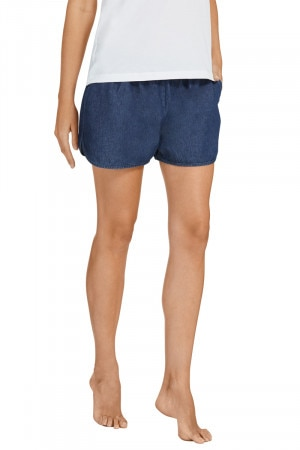 Chambray Runner Short