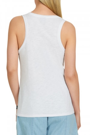Bonds Besties Slub Scoop Tank White CX4WI WIT