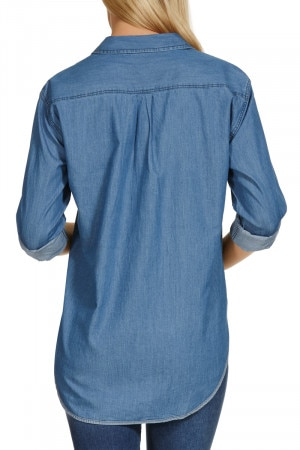 Bonds The Shirt Mid Blue Chambray CXVHI MNH
