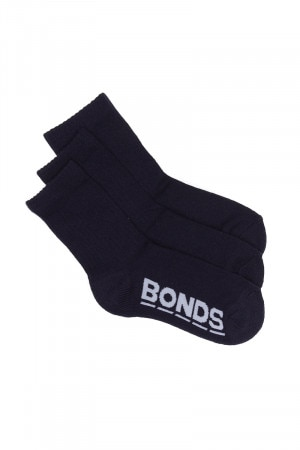 Bonds Logo Original Crew 3 Pack