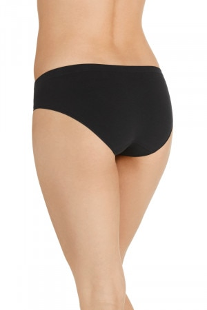 Bonds Comfytails Side Seamfree Bikini Black WWGDA BAC