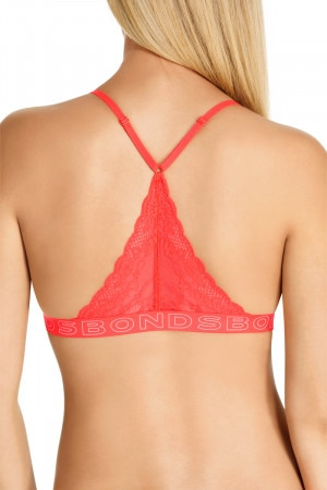 Bonds Racy Lacies Racer Chinoiserie Red WWMNY RFV