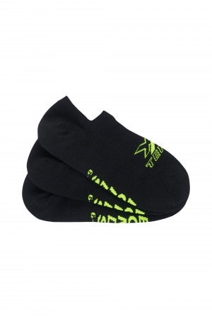 Mens X-Temp No Show Socks 3 Pack
