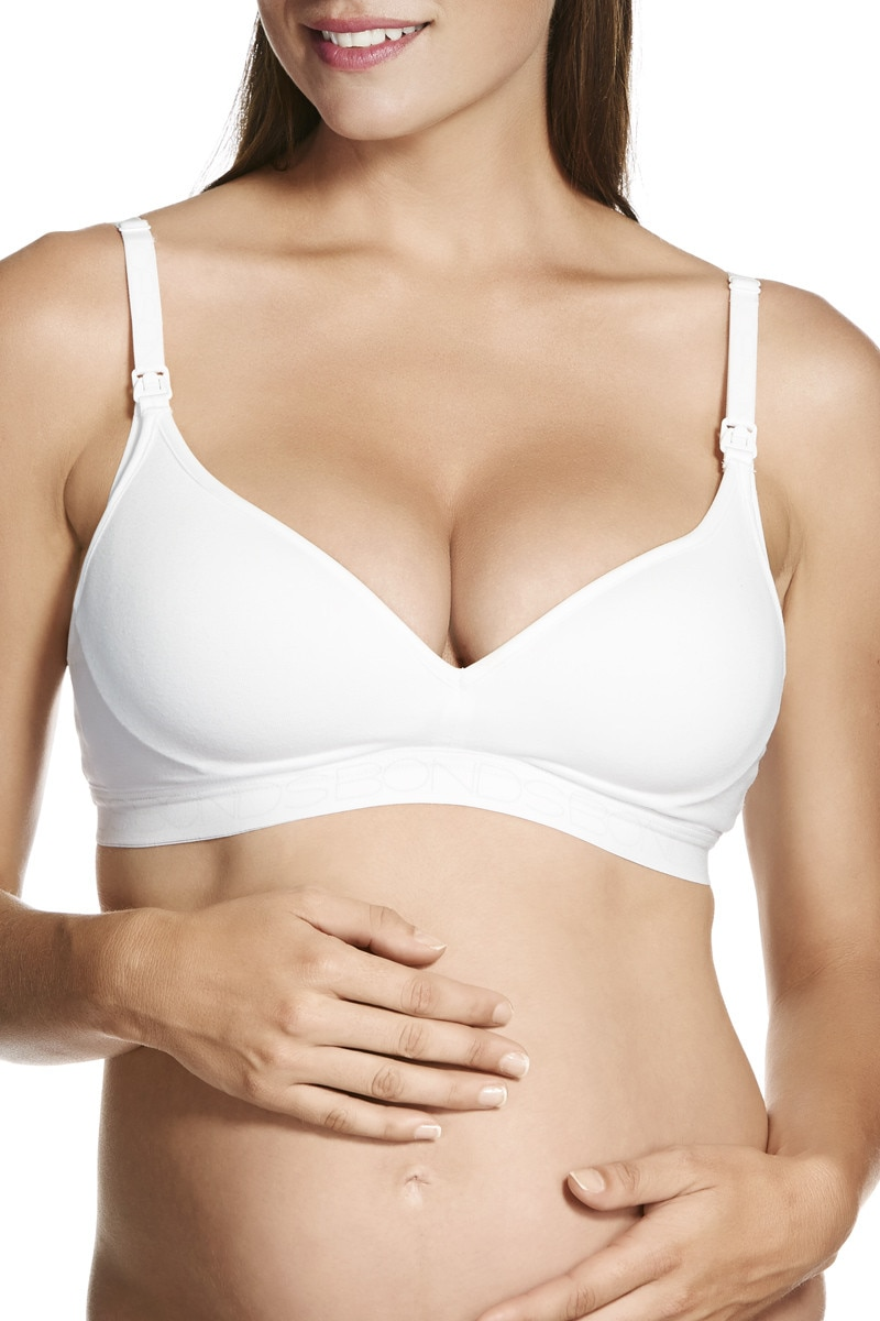 Bonds Maternity Contour Bra White