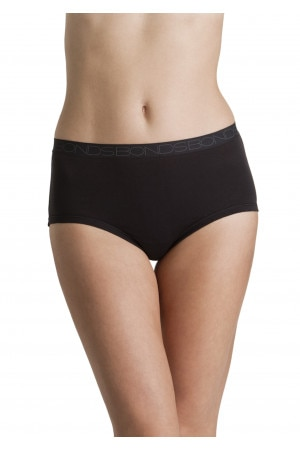 Bonds New Cottontails Full Brief Black