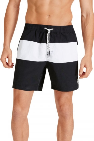 Bonds Boardies Black & White AY94I BAW