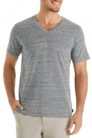 Bonds Triblend V Neck Tee Padan Leaf
