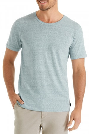Bonds Triblend Crew Neck Tee Chalk Grey