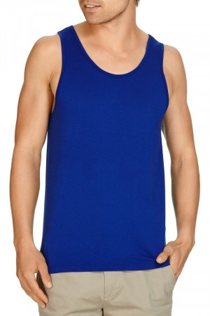 Bonds Basic Tank Blue Oxide AYPYI JCD