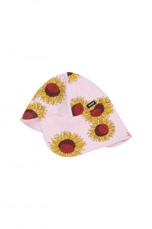 Bonds Baby Flap Hat Sunflower Power Pink