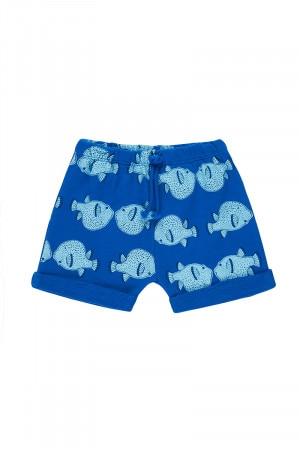 Bonds Originals Short Puff Fishy Blue Grotto