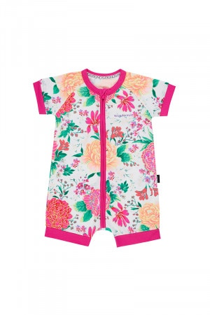 Bonds Zip Romper Wondersuit Pretty Posie