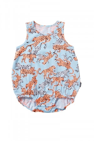 Bonds Stretchies Bubblesuit Lilo Leopard