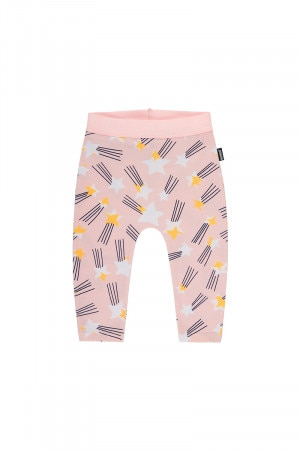 Bonds Stretchies Legging Large Shooting Star Pink