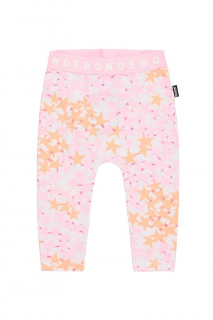Bonds Stretchies Legging Super Star Pink
