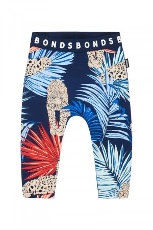 Bonds Stretchies Legging Leopard Amur Black Sea