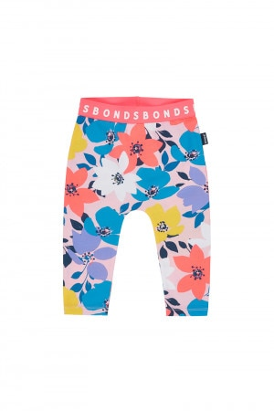 Bonds Stretchies Legging Spring Trail Flora Baby Spice