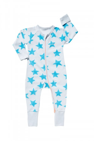 Bonds Ribbed Zip Wondersuit Shooting Star Casa Azul