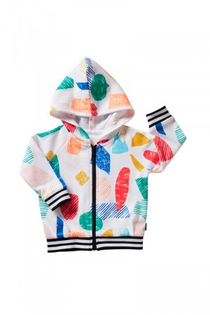 Bonds Retro Ribs Hoodie Shape Up