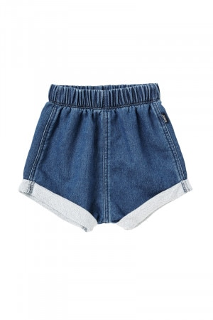 Bonds Chambray Short Mid Blue Chambray BY7FA MNH