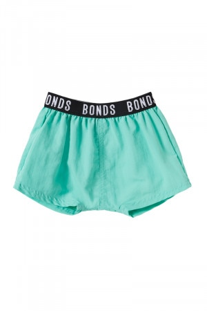 Bonds Baby Swim Beach Short Aqua Frost BY88A JPE