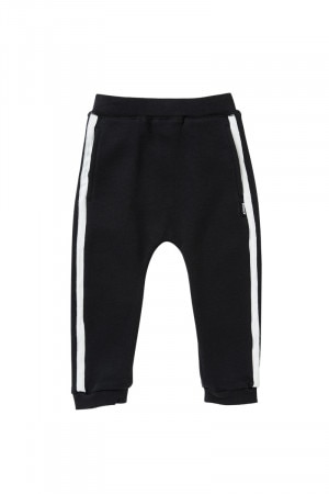 Bonds Cool Sweats Trackie Black BY8LA BAC