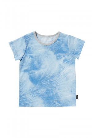 Bonds Short Sleeve Tee Magic Palms Blue BY9MA 2AA