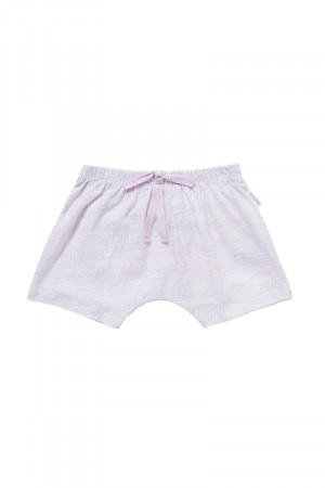 Bonds Newbies Slub Short Mini Speckle Lavender Glaze