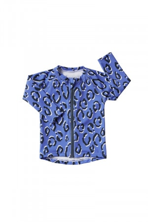 Baby Swim Long Sleeve Zip Rashie