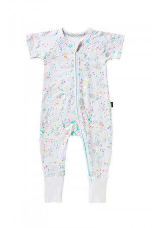 Bonds Zip Wondersuit Glitter Bomb White BYEKA 5FF