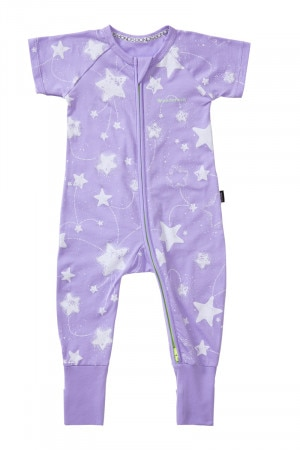 Bonds Zip Wondersuit Starry Night Lilac