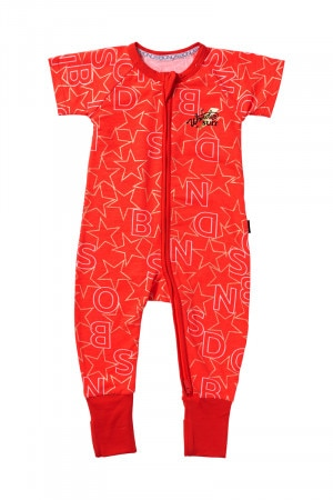 Bonds Zip Wondersuit Bonds Stars Red BYEKA 8EW
