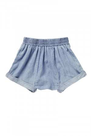 Bonds Chambray Short Summer Blue BYGEA F62