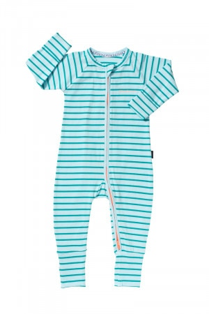 Bonds Zip Wondersuit Green Sportif