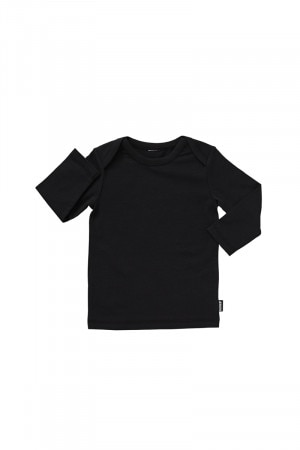 Bonds Stretchies Long Sleeve Tee Black BYNN BAC