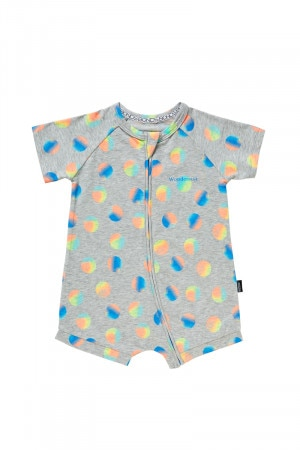 Bonds Zip Romper Wondersuit Celebration Spot Blue