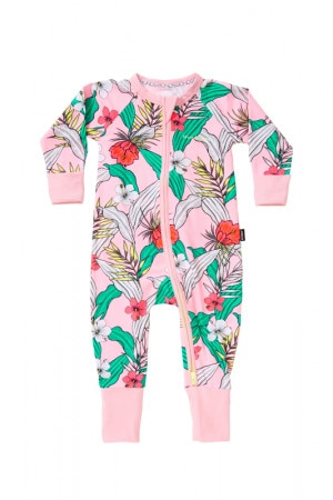 Bonds Zip Wondersuit Ohana Floral