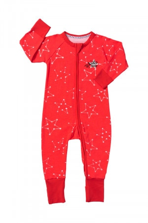 Bonds Zip Wondersuit Confetti Star Red Glo BZBVA 5EW