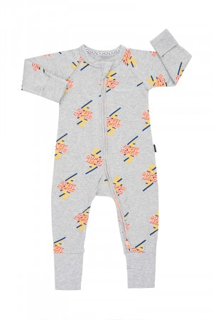 Bonds Zip Wondersuit Zero To Hero New Grey Marle