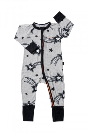 Bonds Zip Wondersuit Wish Upon A Star New Grey Marle