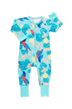 Bonds Zip Wondersuit Parrot Paradise