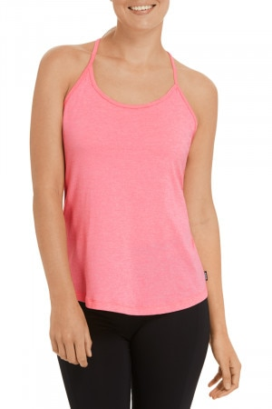 Bonds Lite T Bar Tank Neo Blush