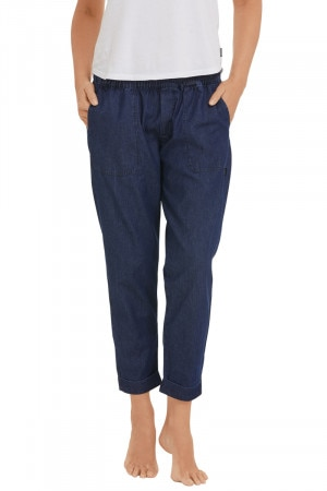 Bonds Chambray Pant Blue Denim