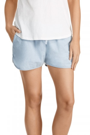 Bonds Chambray Runner Short Summer Blue CWPLI F62