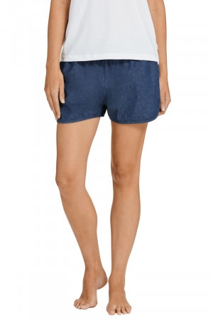 Bonds Chambray Runner Short Blue Denim