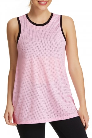 Bonds Basketball Tank Silk Pink CWQYI JFR